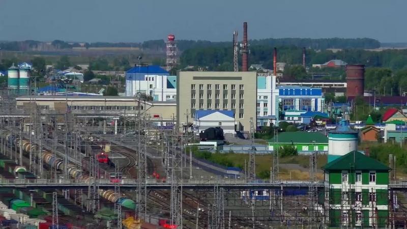 Барабинск с самой высокой точки города