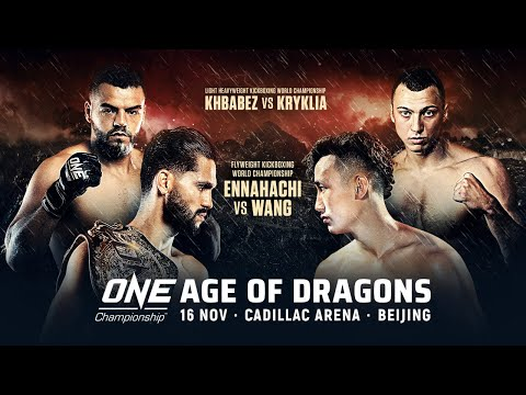 [Full event] ONE Championship: AGE OF DRAGONS