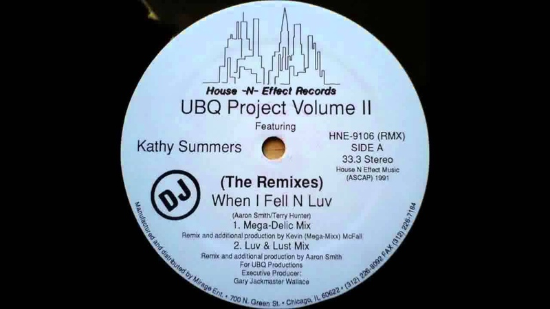 UBQ Project Volume II feat Kathy Summers When I Fell N Luv