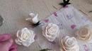 Мыловарение/ Букет из белых роз