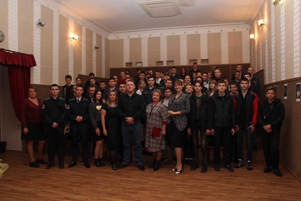 В Донецком городском молодёжном центре прошёл литературный вечер