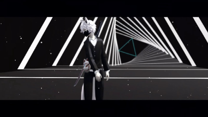 MMD test model circus motion dl closed
