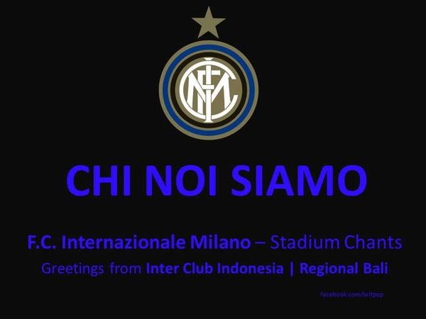 Chi Noi Siamo (F.C. Internazionale - Stadium Chants Cori da Stadio) HD