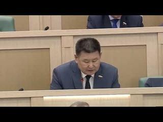 Скандал в Совете Федерации. Сенатор Мархаев:«Вы не народ и экономику спасаете, а продлеваете агонию»