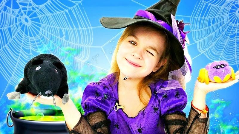 Лучшие серии для девочек с ведьмочкой Юлли - Видео про волшебство