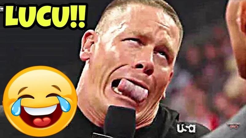 AKSI LUCU PEGULAT WWE FUNNY MOMENTS WWE