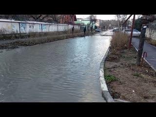 Озеро на ул.Александера 7,8 февраля 2020. Рукожопы и дороги