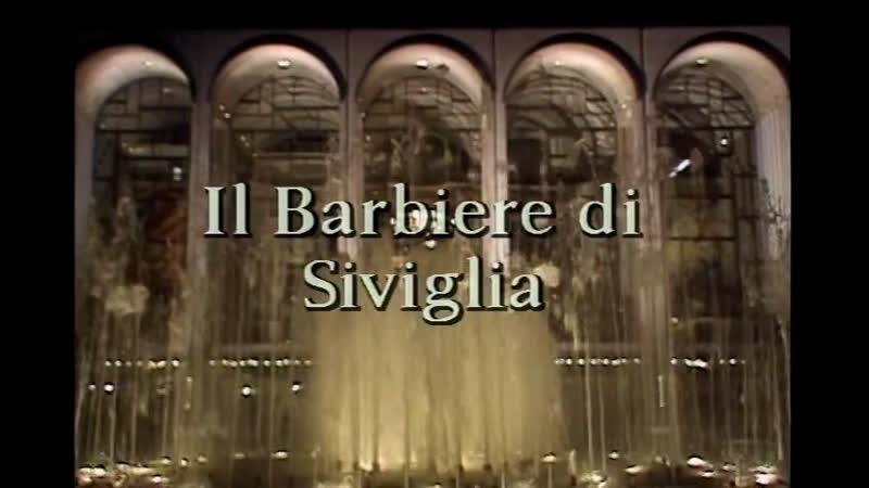 IL BARBIERE DI SIVIGLIA Battle Nucci Blake Furlanetto Dar Met Opera 1989