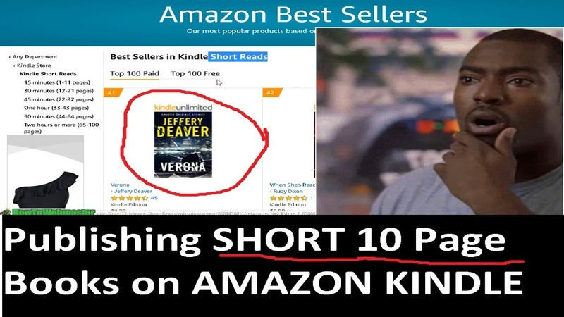 Make Money With Kindle Publishing Selling SHORT Books (1-11 Pages LONG!)