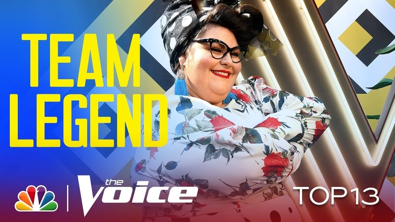 Katie Kadan Brings Her Style to Mary J. Bliges Im Going Down - Voice Live Top 13 Performances