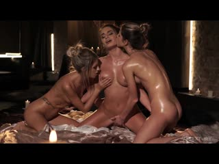 [LezCuties] Gina Gerson, Rebecca Volpetti & Lana Roy - Sapphic Getaway (2020-01-01)