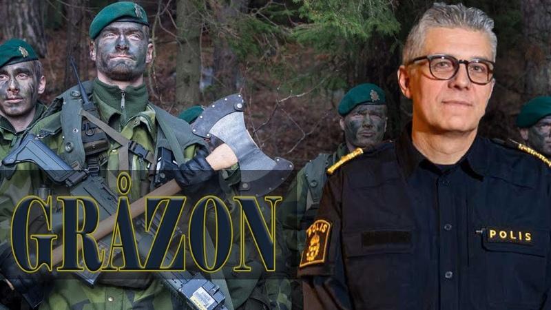 Polisen vill ha hjälp från försvarsmakten Anton och Jonas
