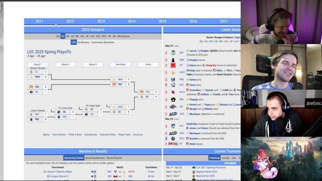 SUMMIT 3 Ток шоу о League of Legends @RillionTV on socials