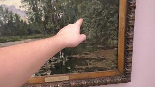 """Обзор картины В. Серова - """"Заросший пруд"""", художник Ревякин. Москва, Третьяковская галерея"""