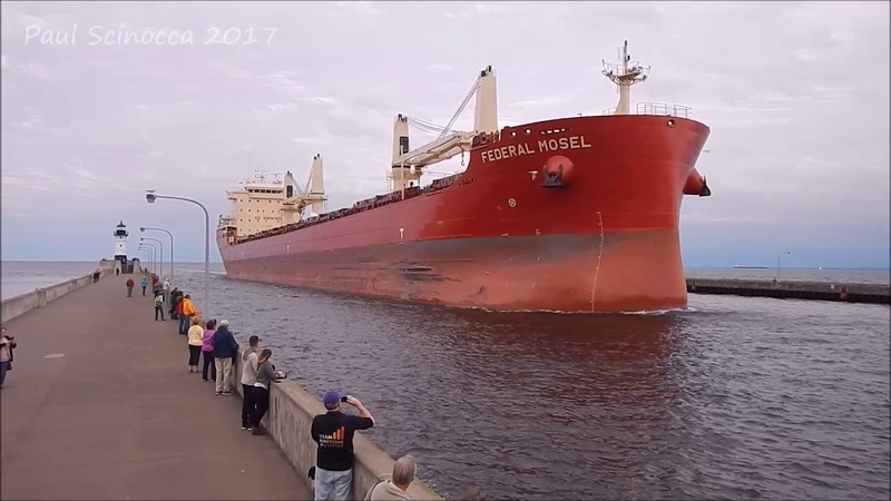 A new ship visiting Duluth this Monday, a jumpy tourist as well....