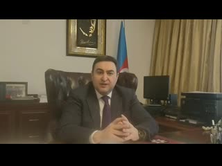 阿塞拜疆大使为武汉加油,为中国加油