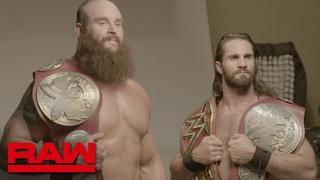 [WBSOFG] Braun Strowman & Seth Rollins' first photo shoot as Raw Tag Team Champions: Exclusive, Aug. 19, 2019
