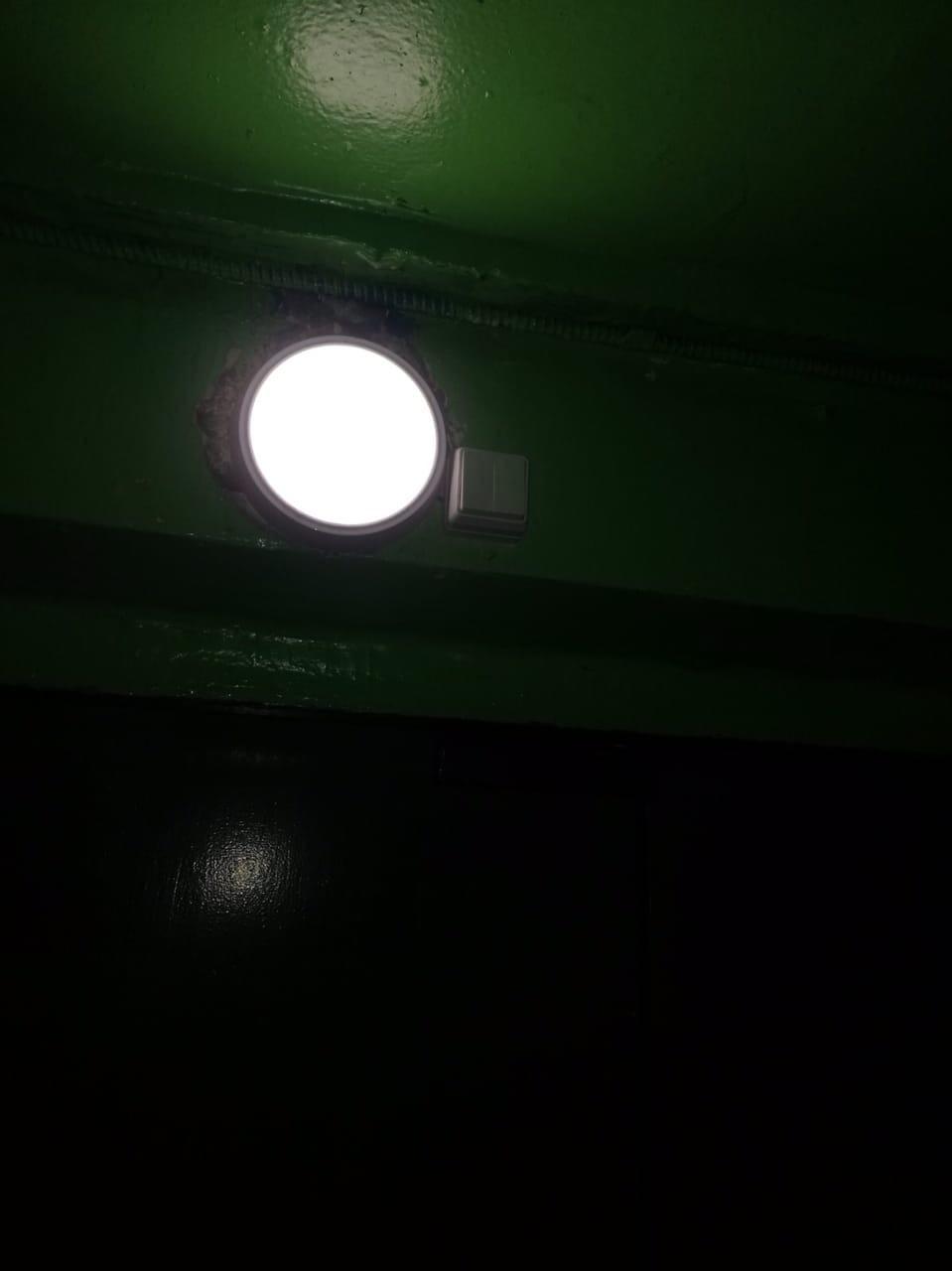 Улица Монтажников дом 30 установка приборов освещения
