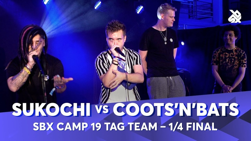 SUKOCHI vs COOTS'N'BATS | SBX Camp 2019 Tag Team Battle | 14 Final
