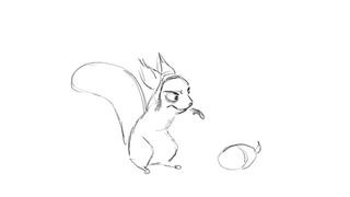 Fullerton the  Squirrel