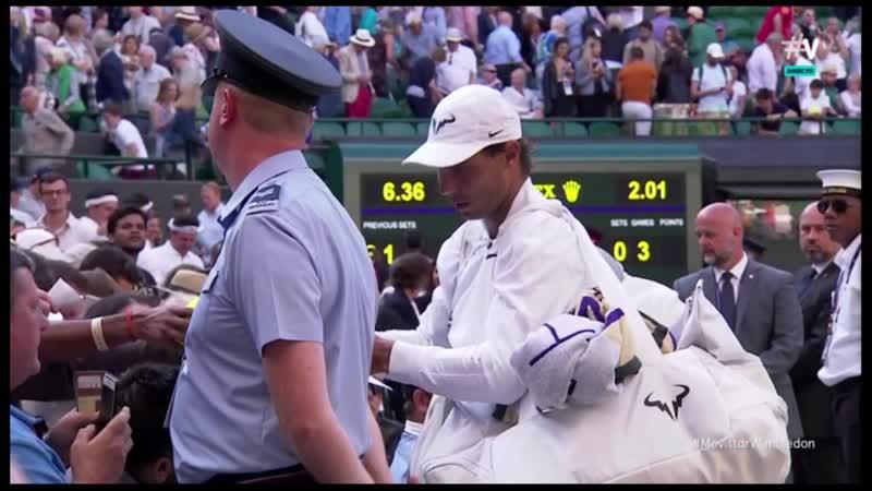 Final Nadal vs Sugita en Wimbledon Vamos Movistar Lite - Prueba 02/07/2019