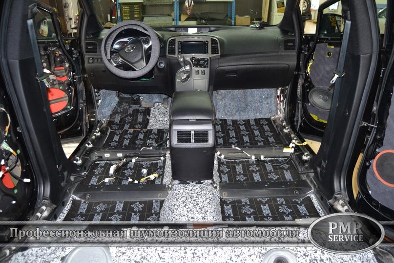 Шумоизоляция Toyota Venza, изображение №10