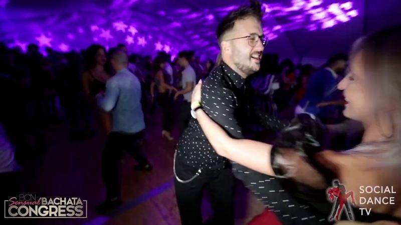 Dario Alba - Bachata social dancing | BCN Sensual Bachata Congress 2019