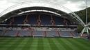 WATCH: Drone footage of the John Smith's Stadium