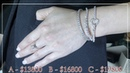 GIA diamond bracelet around the full 💎 quality beautiful stone
