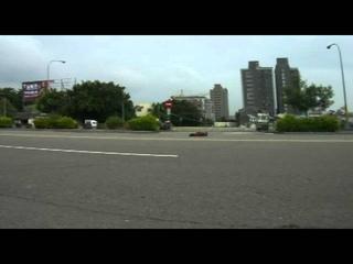 Traxxas xo-1 81mph crash