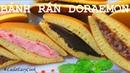 ДОРАЯКИ Японские блины с начинкой из пасты АНКО Японская кухня cách làm bánh rán DOREMON Dorayaki