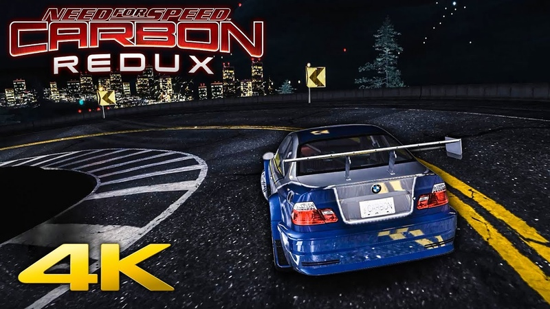 NFS Carbon REDUX Ultimate Cars Graphics Mod in 4K