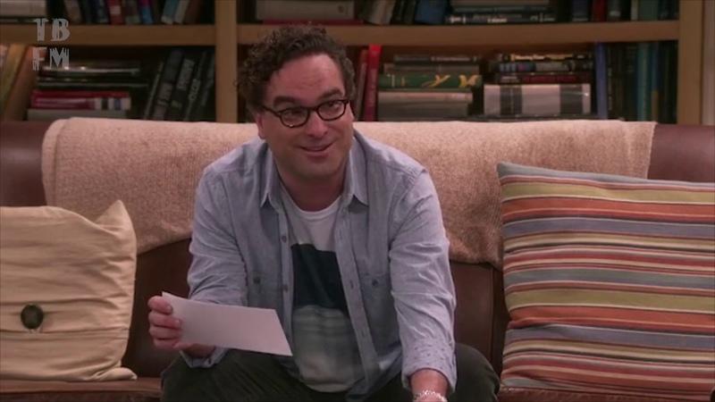 Пенни считает лестничные пролёты Теория большого взрыва 12 сезон