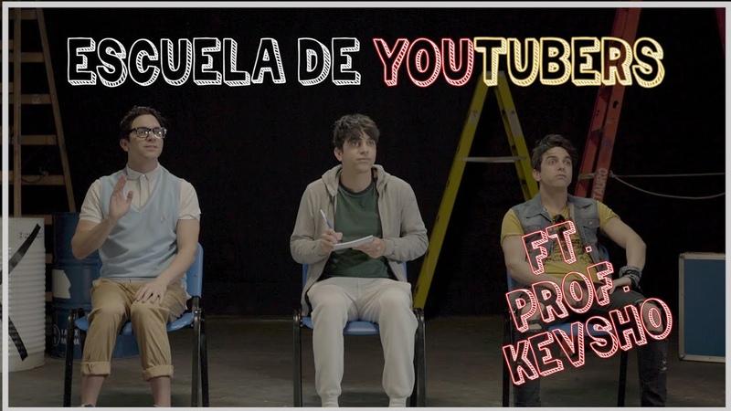 Escuela de Youtubers I Rodrigo Rumi Ft. Kevsho