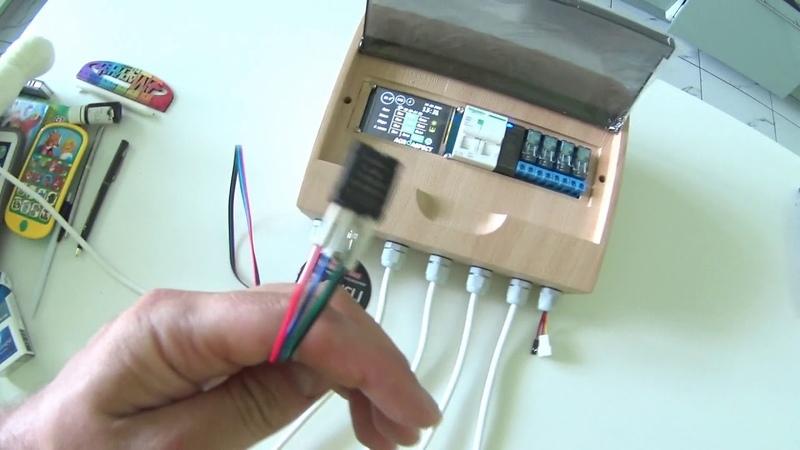 Автоматизация для гроубокса или теплицы контроль света влажности температуры и полива