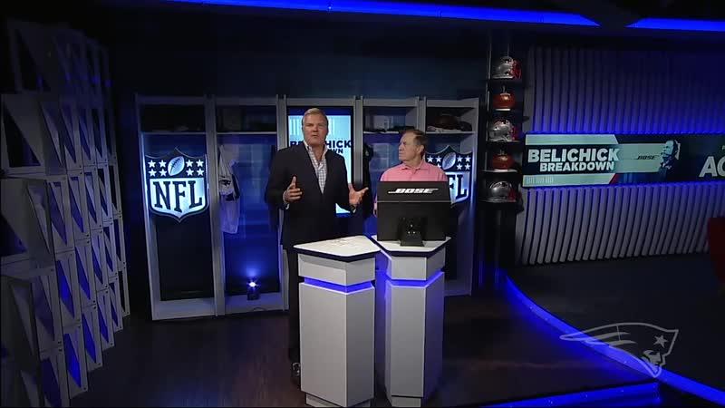 Analyzing Brandon Boldens Long TD Catch from Week 5 Belichick Breakdown