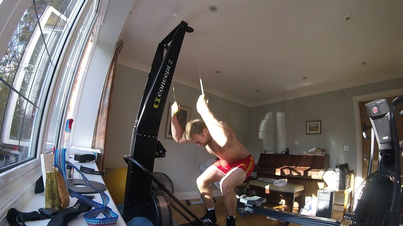 Phil Clapp Concept2 Skierg Open 500m WR 1 14 9