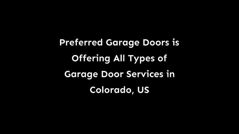 Garage Doors Offers