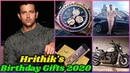 Hrithik Roshan's Birthday Gifts From Big Bollywood Stars in 2020