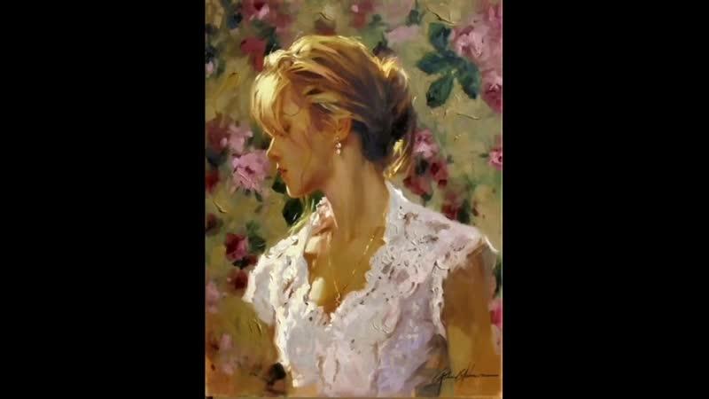 Женская красота в живописи Richard S Johnson vol 2