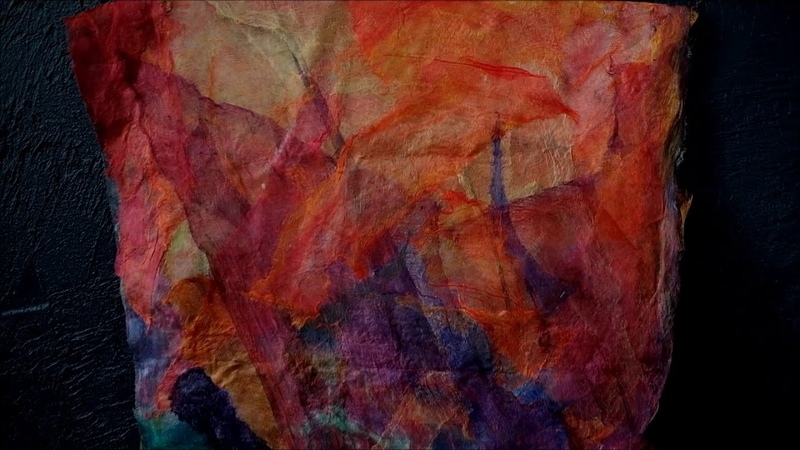 Окраска шелка кислотными красителями Т Шпилевая