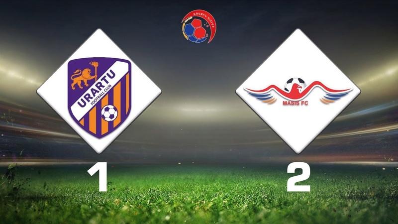 Urartu 2 Masis 1 2 Armenian First League 2019 20 Week 19