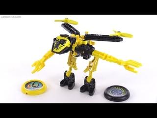 LEGO Slizer / Throwbot Judge / Jet from 1999! set 8504