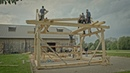 Northmen Guild's Carpentry Course - Rising The Timber Frame