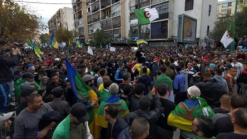 Grandiose Mobilisation à Tizi Ouzou Contre Le Pouvoir Et Son Vote Vendredi Acte 42