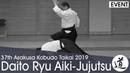 EXPLOSIVE Daito-ryu Aiki-jujutsu Demonstration - Kondo Katsuyuki - 2019 Asakusa Kobudo Taikai