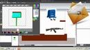 Construct classic - как сделать анимацию игроку, иным спрайтам, общий пример, шаблон 5