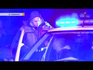 В Казани очевидцы помогли задержать нетрезвого водителя