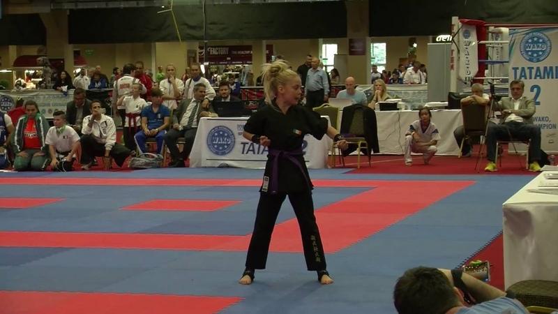 Jesse Jane McParland WAKO Junior and Cadet World Championships 2016