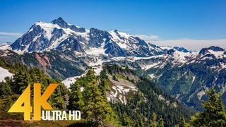 Fall Colors of North Cascades National Park - 4K Relaxation Video with Nature Sounds - Part #2